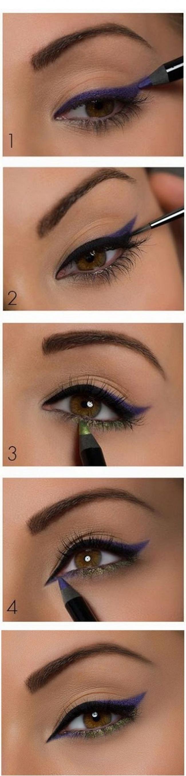 Как правильно и ровно рисовать стрелки на глазах: пошаговое 57