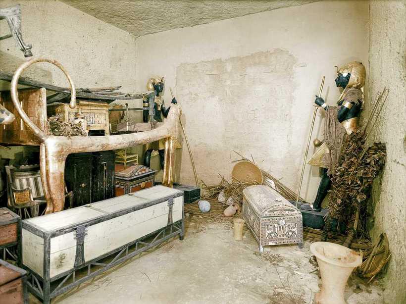 Археологи открыли гробницу Тутанхамона и были очень удивлены! Несколько уникальных фото