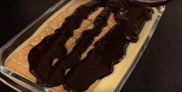 Великолепный десерт без выпечки – готовим вкусно, просто и быстро!
