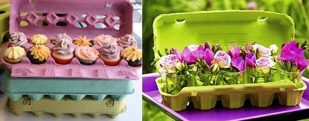 Вы тоже относите в мусор картонные коробки из-под яиц? Не стоит, ведь из них можно сделать столько красоты!