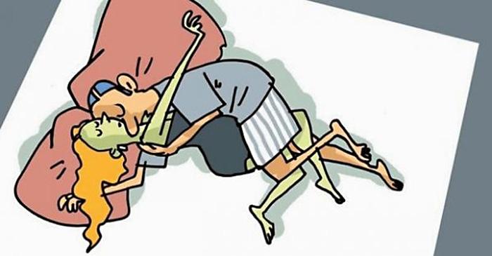 Самые распространенные позы сна семейных пар, по которым можно судить об отношениях!