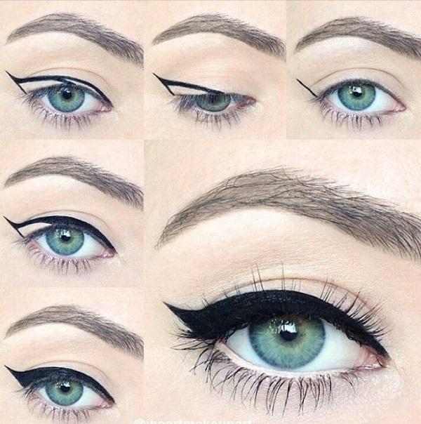 Несколько трюков для макияжа глаз, которые сделают взгляд притягательным и свежим! Читайте и сохраняйте!