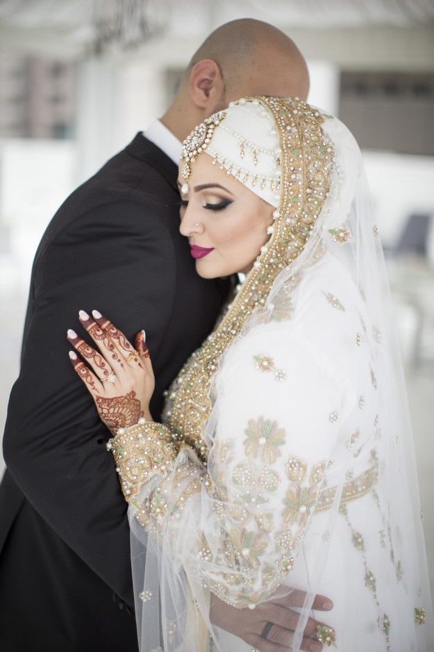 Самые красивые невесты в хиджабе – глаз просто не отвести! Посмотрите эти волшебные фото!