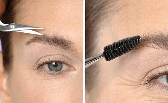 Как самостоятельно сделать брови ухоженными и красивыми? Предлагаем воспользоваться простой техникой!
