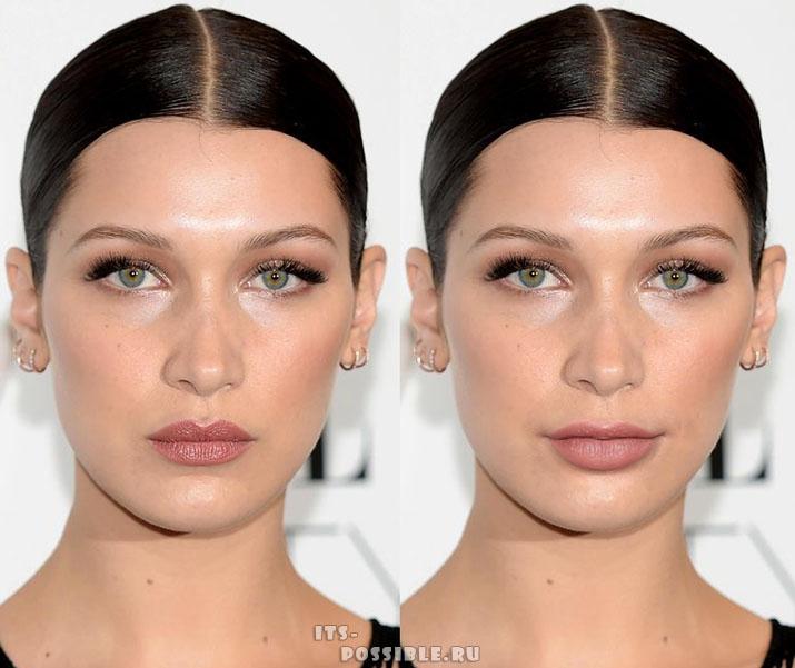 Эксперимент, наглядно доказывающий, что губы способны кардинально изменить внешность!