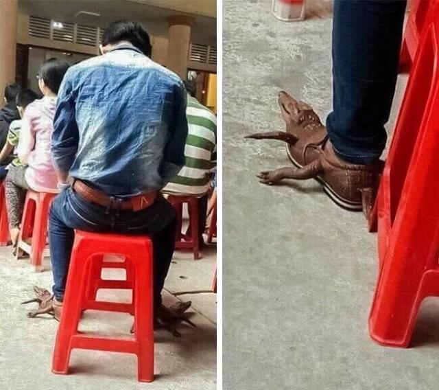 Минутка настоящей высокой моды – модники на улице: такого вы еще не видели!