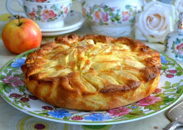 Вкуснейший итальянский деревенский пирог – для всех, кто любит выпечку с яблоками