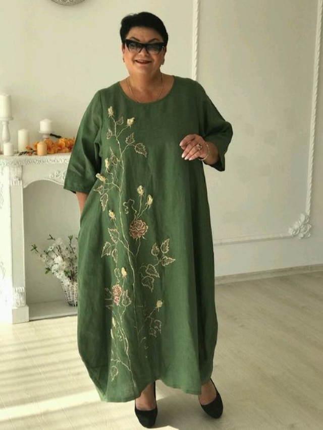 17 оригинальных и небанальных нарядов в стиле бохо. Для дам в элегантном возрасте!