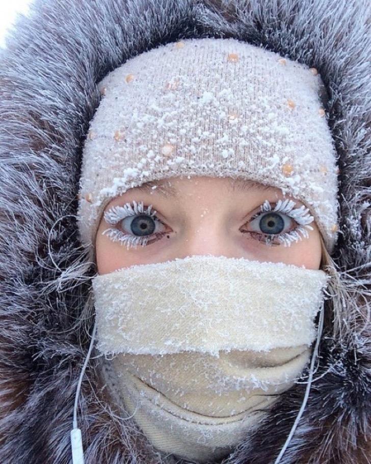 Холодно, говорите? Да что вы знаете о холоде? Только посмотрите на эти фото – вот это зима, вот это сумасшедший холод!