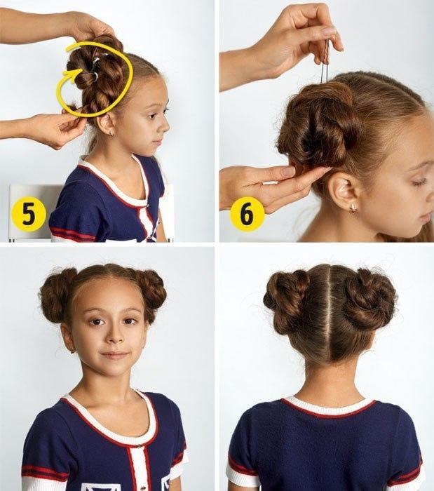 Легко и красиво! Предлагаем 10 фото-инструкций по созданию изысканных и оригинальных причесок для девочек!