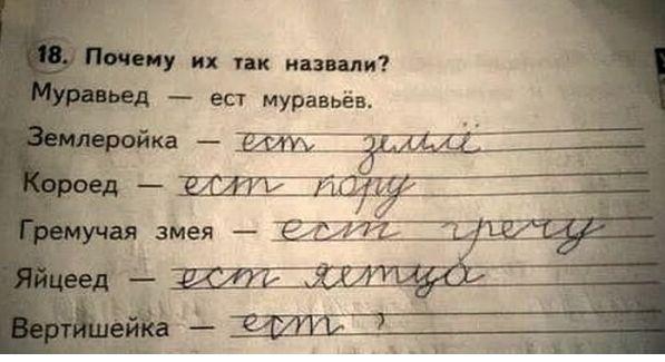 15+ очень метких и смешных ответов детей учителям! Порой ученики проявляют чудеса сообразительности!
