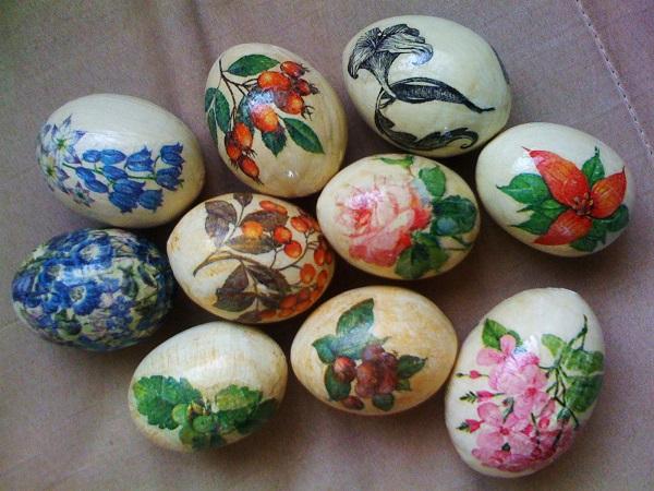 Возьмите яйца, 3 салфетки, крахмал – и получите невероятную красоту к Пасхе!