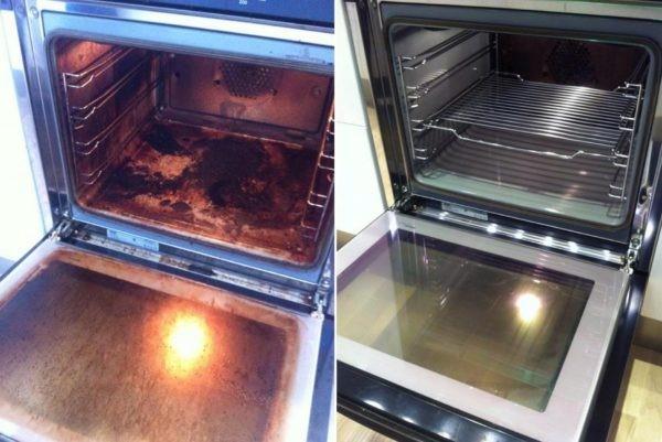 Нашли простой и гениальный способ очистки духовки буквально до блеска! Смотрим!