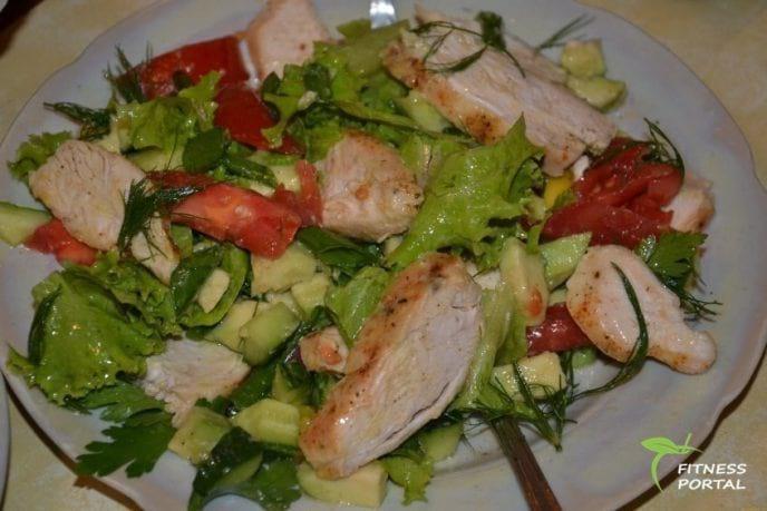 ТОП-5 лучших фитнес-салатов – чтобы кушать вкусно и живот был плоским! Правильное питание – это просто!