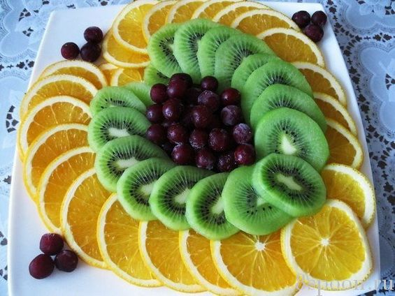 Самые красивые варианты подачи фруктов для праздничного стола! Справится любая хозяйка и поразит всех гостей!
