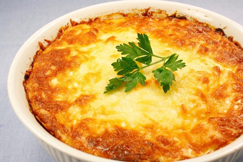 Очень нежная и сытная картофельная запеканка с мясом. Лучшее блюдо, которое обожают мои домашние!
