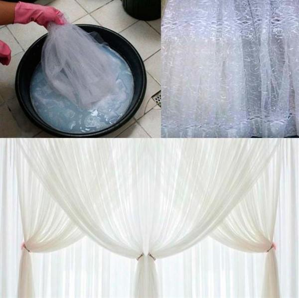 Стираем тюль и другие белые ткани правильно: избавляемся от желтизны и возвращаем первоначальный вид