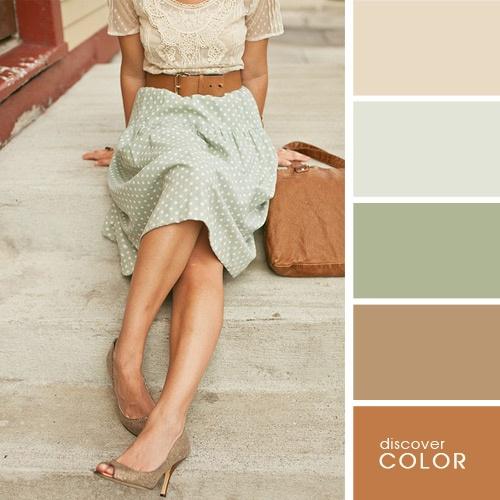 Супер-шпаргалка для модниц: как правильно сочетать цвета и оттенки в одежде, аксессуарах. Чтобы выглядеть стильно и красиво!