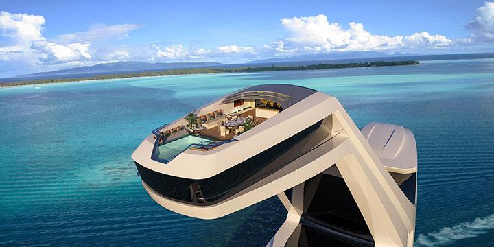 Эта яхта стоит 250 миллионов долларов! И просто сводит с ума… А фишкой стала необычная каюта!..