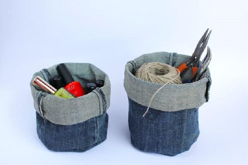 Не стоит выбрасывать старые джинсы – только посмотрите, сколько всего интересного и красивого из них можно сделать!