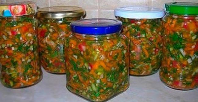 заготовка заправки на зиму для супа